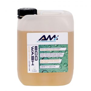 Alkaline soap canister for washing surfaces of ships and boats