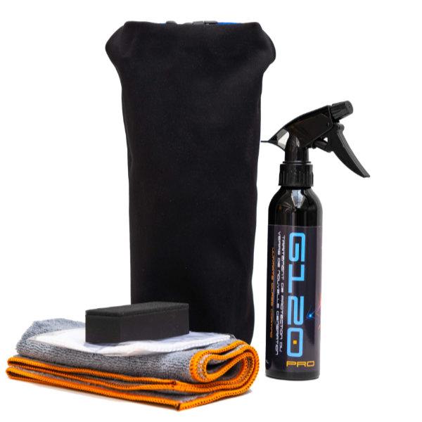 kit G-120 pour nettoyage toutes surfaces verre et